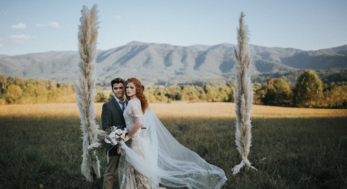 Inspiration For A Stunning Mountaintop Ceremony