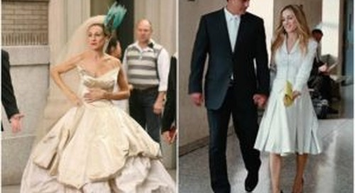 Wedding Style for Carrie Bradshaw Lovers