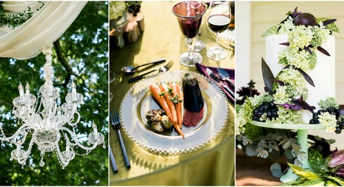 English Garden Party Wedding Inspiration