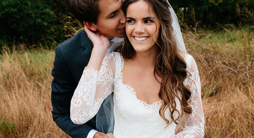 You're As Sweet As Strawberry Wine | Catie and Connor Tie the Knot