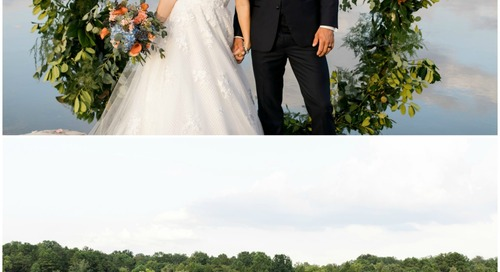 Waterfront Wedding Inspiration