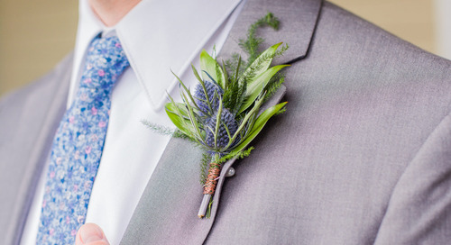 10 Wedding Boutonnieres Perfect for Spring