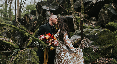 Moody Boho Fall Wedding | Kelli & Kendall