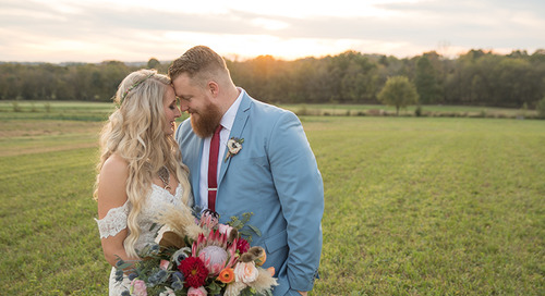 Boho Glam Nashville Wedding | Jessica & Rich