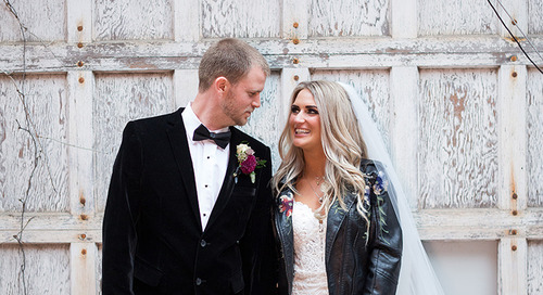 Rock & Roll Gypsy Wedding | Grace & Bobby
