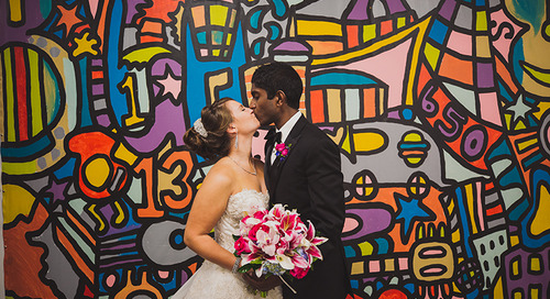 Colorful Multicultural Wedding in Downtown Nashville | Stephanie & Sumeeth