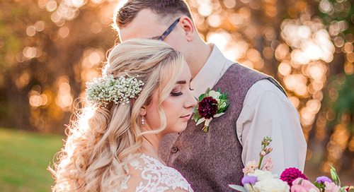 Golden Fall Wedding in Tri-Cities | Sara & Jason