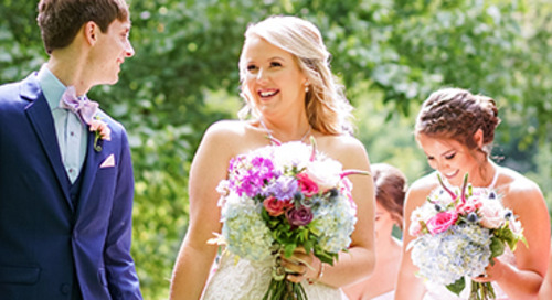 Navy & Pink Summer Wedding | Shannon & Brandon