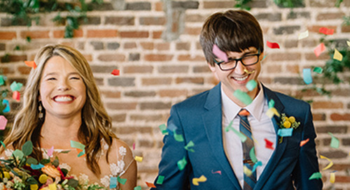 Bright & Colorful Knoxville Wedding | Brittany & Kyle