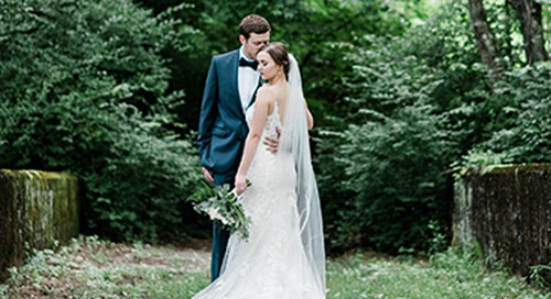 A Natural & Elegant Wedding in Knoxville, TN | Mary & David