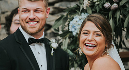Ethereal Meets Industrial Wedding | Macy & Ryan