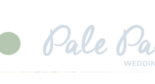 Pale Pastels Wedding Color Board