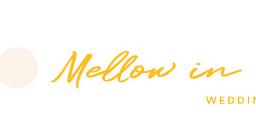 Mellow in Yellow Wedding Color Board