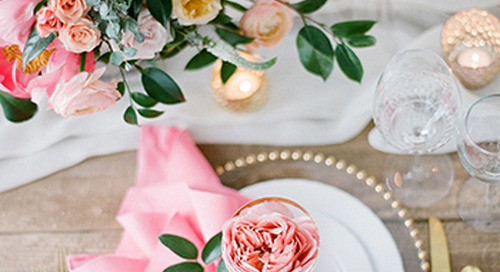 Wedding Flower Feature: Coral Charm Peony