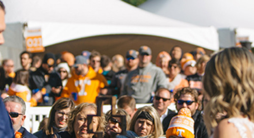 UT Tailgate Wedding | Nikki & Nate