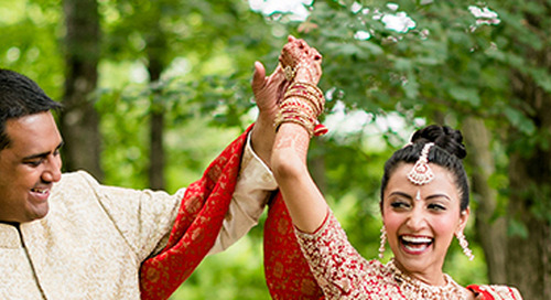 Colorful & Vibrant Indian Wedding in Knoxville | Sneha & Nikhil