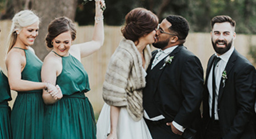 Dreamy Emerald & Gold Wedding | Annie & Ambrose