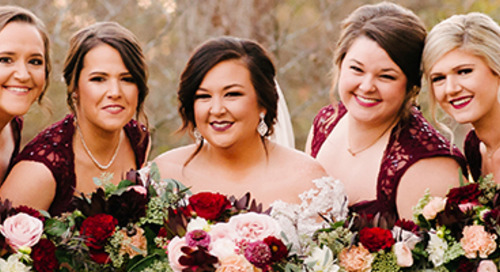 Burgundy & Blush Fall Wedding | Carrie & TJ