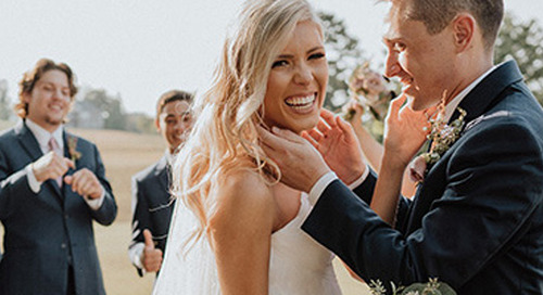 Elegant & Modern Wedding in Knoxville | Sydney & Riley