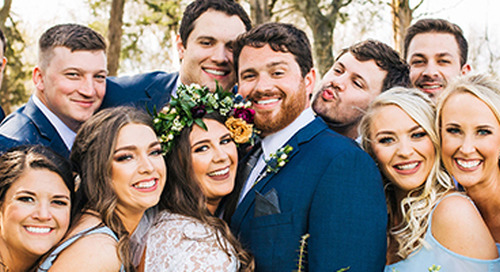 Modern Meets Boho Cover Wedding | Katelyn & Brandon