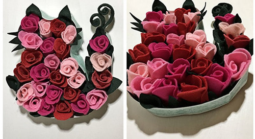 You Could WIN this Cat Rose Bouquet