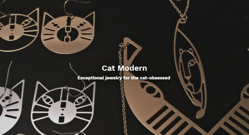Cat Inspired Jewelry – Artful, Witty and Sophisticated