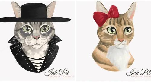 Purrsonalized Pet Portraits