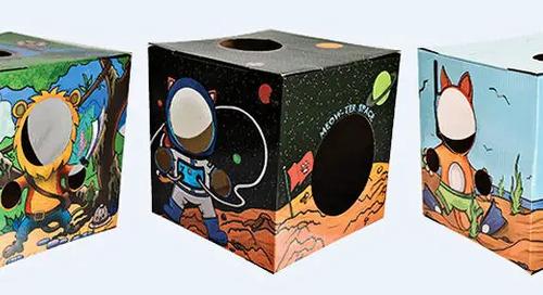 WIN a Kitty Cardboard Designer Box