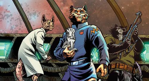 Captain Ginger – Starship Superhero