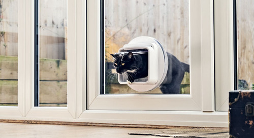 WIN a Microchip Cat Flap Connect from Sure Petcare