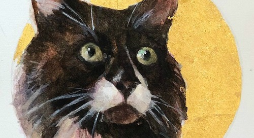 WIN a Portrait of Your Cat