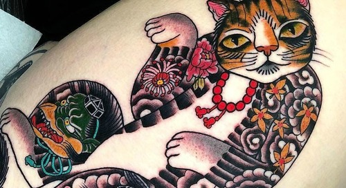 Cat Tattoos to Inspire and Admire