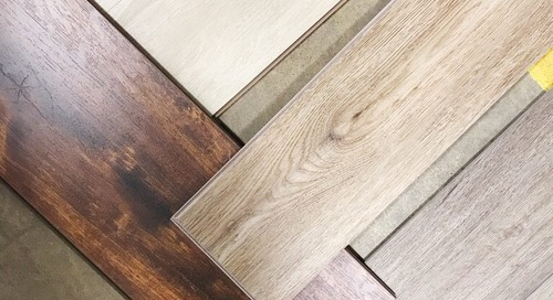 DOVE HILL PROJECT: FINDING OUR FLOORING