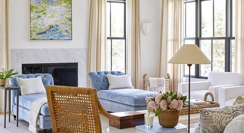 SWELL SHOPPING: CALM & COLLECTED LIVING ROOM
