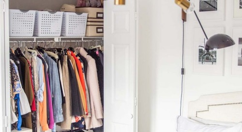 GRACE'S BEDROOM AND CLOSET ORGANIZATION