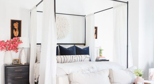 SWELL SHOPPING: BRIGHT & LAYERED MASTER BEDROOM
