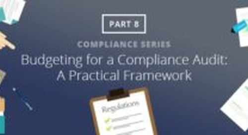Budgeting for a Compliance Audit: A Practical Framework