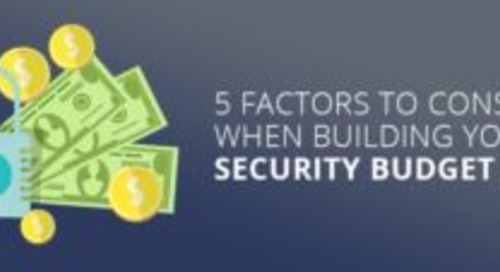 5 Factors to Consider When Building Your Security Budget