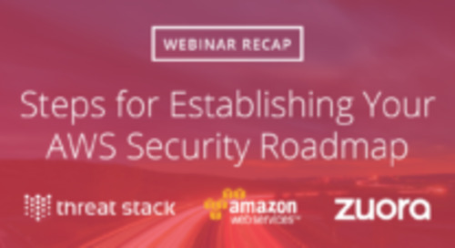 Steps for Establishing Your AWS Security Roadmap