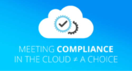 Meeting Compliance in the Cloud ≠ A Choice