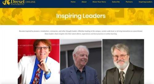 Videos from three 'inspiring' online leaders