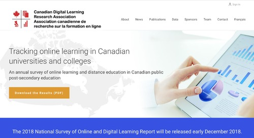 New enrolment data for online learning in Canadian universities and colleges