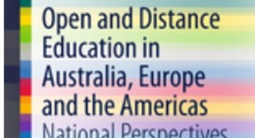 Book review:  Open and Distance Education in Australia, Europe and the Americas