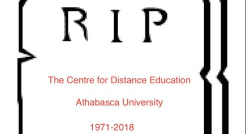 Athabasca University's Centre for Distance Education to close