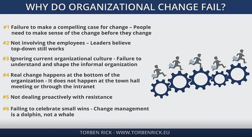 Why does organizational change fail