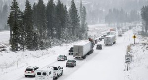 Weather Company Aims to Give Truckers Full Forecast