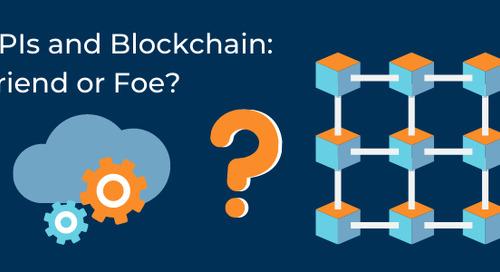 APIs and Blockchain: Friend or Foe