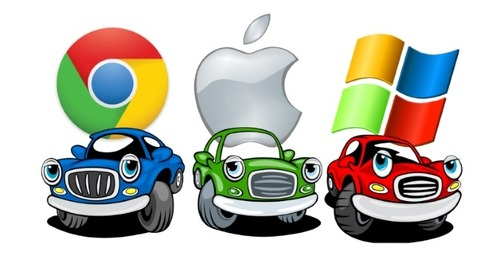 Clash of the Titans: Google, Apple & Microsoft Brace Themselves for Your Car