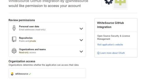 WhiteSource Launches GitHub Integration