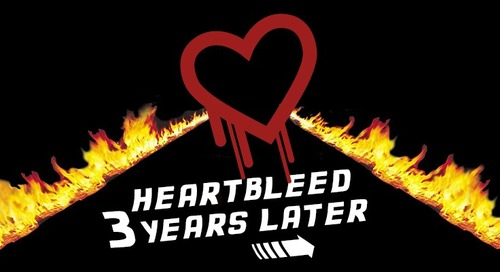 Back to Heartbleed. Three Years Later.
